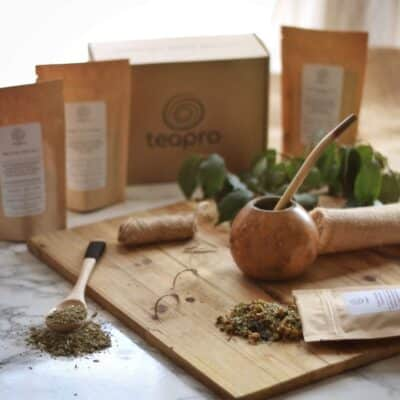 gourd and bombilla yerba mate teapro august tea subscription
